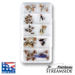 10-Compartment Streamside™ Fly Box fly, fly fishing, fly fishing box, box, vertical friction foam, friction, steamside, stream side, streem side, fly box, ripple foam, ripple, 10-compartment streamside fly box,  fishing gear, fishing gear storage, storage for fly, great gift, fathers day, gift for him, fishing supplies,