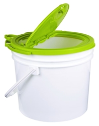 Minnow Bucket - 3.5 GAL. bait bucket, 3.5 gallon bait bucket, fishing bait bucket, fishing bucket, fishing, bait storage