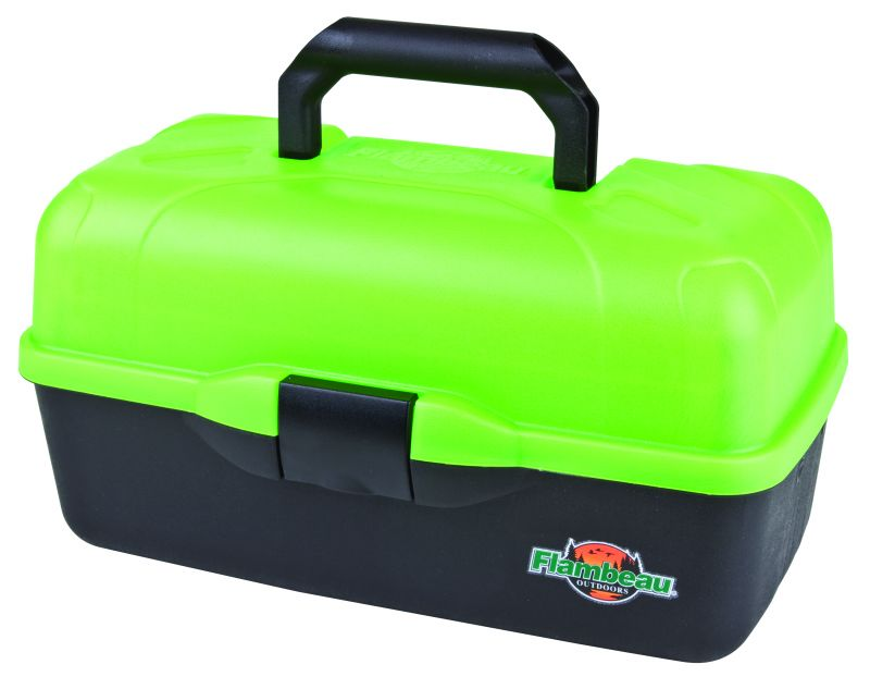 Frost Series™ Green 3 Tray fishing, ice fishing, winter fishing, fishing gear, storage for tackle, storage for lures, storage for flys, Ice tackle box, waterproof tackle box, fishing gear storage, gifts for him, fathers day gift, highly visable tackle box, sturdy tackle box, durable tackle box,