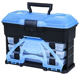 T3 Multiloader™ - Frost Series Blue T3,frontloader,frost, frost blue,tackle storage,hard tackle storage,tackle box,front loader tackle box