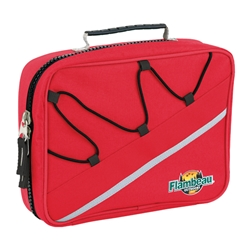 AZ2 red soft tackle box closed