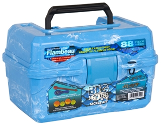 Big Mouth Tackle Box Kit - Pearl Blue Swirl
