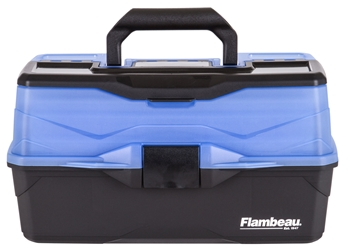 Classic 3-Tray - Frost Series Blue front closed