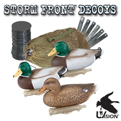 Storm Front™2 Classic Floater Mallard Kit - 6-Pack storm, storm front, front, storm front decoys, stormfront decoys, stormfront decoy, storm front decoy, uvision, u vision, u-vision, uv, duck, ducks, waterfowl, duck decoy, duck decoys, decoy, decoys, classic, classic mallard, classic mallard kit, kit, mallard duck, hunting, duck hunting, duck hunting decoy,  Mallard duck decoy, fathers day gift, gift for him, Christmas gift for him, realistic decoy, realistic hunting decoy,
