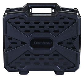 Double Deep Tactical Pistol Case closed standing
