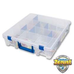 Double Deep w/ Zerust®Tuff %27Tainer® Satchel fishing, fresh and salt water fishing, fresh water fishing, salt water fishing, fresh water, salt water, satchel, satchel series, tuff tainer, tuff, tackle box, tackle, storage, lures, storage for lures, storage for tackle, non-rusting, Zerust, corrosion protection, great gift, fathers day, gift for grandpa, gift for father, gift for uncle, gift for husband, gift for son, Christmas gift, birthday gift, clear satchel, translucent satchel, fishing gear, fishing supplies, deep sea fishing,