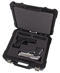 Double Wall Safe Shot Double Pistol Case
