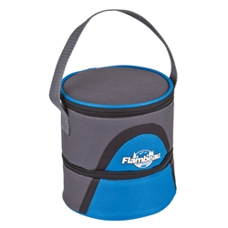 Soft-Sided Double Compartment Worm Cooler WC101,bait,worm,cooler,worm cooler,dual