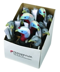 "Feather Flex® Feather Flex PDQ featherflex, feather flex, ""Feather Flex"", hen, jake, bulk package"