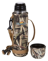 Flambeau Insulated Bottle - 24 oz. Shadow Grass Blades flambeauoutdoors,coffe cup, Insulated thermos, Thermous, Insulated bottle, Camofloge, Camouflage, Camouflaged mug, Camo, Camoflaged cup, Camoflaged thermos, gifts for dad, christmas gifts, christmas gift for him, mugs for dad, camo for him, hunting supplies, eating utencils, camping equipment, hunting equipment, flambeau insulated bottle, flambeau, flambo, flambu, flambeau outdoors, flambeau hunting, deer, duck, deer hunting, duck hunting
