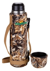 Flambeau Insulated Bottle - 32 oz. Duck Blind flambeauoutdoors,coffe cup, Insulated thermos, Thermous, Insulated bottle, Camofloge, Camouflage, Camouflaged mug, Camo, Camoflaged cup, Camoflaged thermos, gifts for dad, christmas gifts, christmas gift for him, mugs for dad, camo for him, hunting supplies, eating utencils, camping equipment, hunting equipment, flambeau insulated bottle, flambeau, flambo, flambu, flambeau outdoors, flambeau hunting, deer, duck, deer hunting, duck hunting