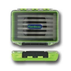 Flambeau® Ice Small IFF Foam Crystal Box fishing, ice fishing, winter fishing, fishing gear, storage for tackle, storage for lures, storage for flys, Ice tackle box, waterproof tackle box, fishing gear storage, gifts for him, fathers day gift, highly visable tackle box, sturdy tackle box, durable tackle box,