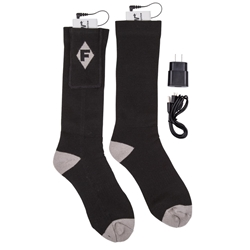 3.7V Rechargeable Heated Socks Kit 3.7V rechargeable heated socks kit, heated socks, heated socks kit, socks, heated gear, sock, F250