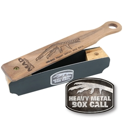 "MAD® Heavy Metal Box Call turkey call, turkey calls, box, box call, box calls, turkey box call, turkey box calls, Heavy Metal Box Call, heavy, heavy metal, heavy metal turkey call, MAD,""MAD"",Heavy Metal Box Call"