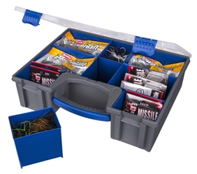 "IKE Quotient ""IQ"" Series Utility Box - Large Double Deep IQ, IKE Quotient, IQ double deep, IQ series large double deep, IQ utility box, IQ series utility box, IKE quotient tackle box, Ike tackle box double deep, mike iaconelli, mike iaconelli box, flambeau, flambeau outdoors, tackle box, utility box, 142-IQ"