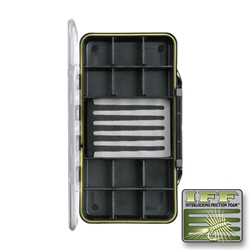 Large 12-Compartment Crystal Fly Box fly, fly fishing, fly fishing box, box, interlocking friction foam, vertical friction foam, friction, crystal, crystal fly boxes, compartment, compartments, large, large 12-compartment crystal fly box, tackle box, tackle, storage, lures, storage for lures, storage for tackle,  great gift, fathers day, gift for grandpa, gift for father, gift for uncle, gift for husband, gift for son, Christmas gift, birthday gift, fishing gear, fishing supplies, deep sea fishing,