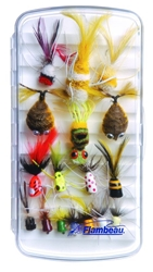 Large Streamside™ Fly Box - Ripple Foam fly, fly fishing, fly fishing box, box, vertical friction foam, friction, steamside, stream side, streem side, fly box, ripple foam, ripple, large ripple foam streamside fly box,  fishing gear, fishing gear storage, storage for fly, great gift, fathers day, gift for him, fishing supplies,