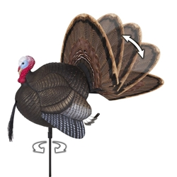 MAD® Spin-N-Strut Motion Decoy turkey decoy, motion turkey decoy, Spin-N-Strut, spin n strut, spin n strut turkey decoy, MAD, be a mad man, gobbler decoy, tom decoy