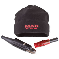 MAD® Man Kit Mad, MAD, M.A.D., Black hat, beanie, mens hat, winter hat, hyper growl, doe bleat, deer call, hunting packs, gifts for him, Christmas gifts for him, hunting gifts, hunting gift sets, hunting calls, realistic deer calls, realistic buck call, realistic doe call, buck hyper growl, mad hat, mad beanie, hunting hat, hunting kit, fathers day gifts, hunter, hunting, flambeau, flambo, flambu, flambeau outdoors, flambeau hunting,