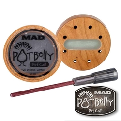 MAD® Pot Belly Pot Call Pot Belly Call, MAD Pot Belly Call, Potbelly Call, MAD Potbelly Call, Pot Belly, Potbelly, MAD turkey call, MAD Turkey calls, turkey, turkey calls, hunting, turkey hunting