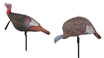 MAD® Walking Tom & Shady Baby Feeder Combo mad walking tom and shady baby feeding hen combo pack, walking tom and shady baby feeding hen combo pack, mad combo pack; walking tom combo, shady baby combo, turkey decoys, combo turkey decoys, mad combo pack, turkey decoy combo