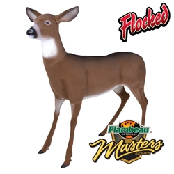 Master Series™ Flocked Boss Babe™ flambeauoutdoors, deer, decoy, decoys, deer decoys, deer decoy, master series, master, series, boss, flocked, boss babe, babe