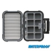 Medium Blue Ribbon™ Waterproof Fly Box - Ripple Foam & (8) Compartments - 2926CR