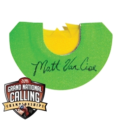 NWTF GN - Matt Van Cise Cut mad, nwtf grand national series, matt van cise, turkey mouth call, turkey call, mouth, cut