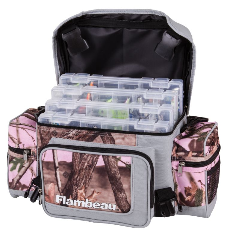 Pink camo tackle bag 400pk for Pink camo fishing pole