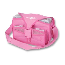 Pink Ribbon Small Soft Tackle Bag tackle box, pink ribbon, pink fishing, pink, breast cancer, breast cancer support, cancer, salt water fishing, freshwater fishing, tackle box, tackle, storage, lures, storage for lures, storage for tackle, great gift, fathers day, gift for grandpa, gift for father, gift for uncle, gift for husband, gift for son, Christmas gift, birthday gift, fishing gear, fishing supplies, deep sea fishing,