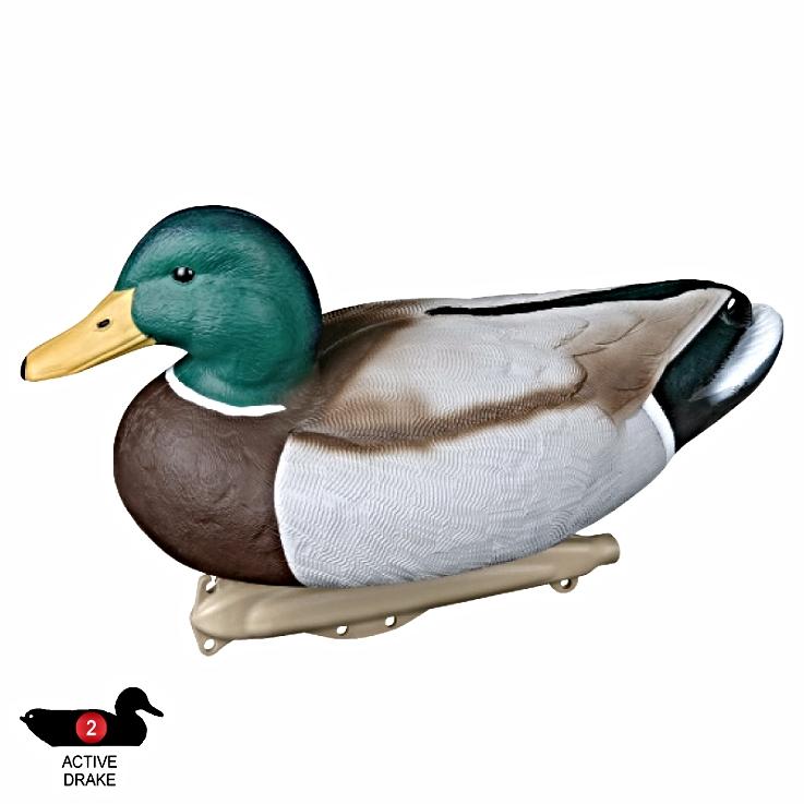 "Details about  /Flambeau Duck Decoy Mallard 16/"" Hunting Shotgun Floating  decoy"