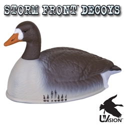 Storm Front™ White-Fronted Goose Shell - 12-Pack storm, storm front, front, storm front decoys, stormfront decoys, stormfront decoy, storm front decoy, uvision, u vision, u-vision, uv, goose decoy, goose decoys, canadian goose, canada goose, waterfowl, geese, white, white-fronted, white fronted, white-fronted goose shell, shell, pack, hunting, bird hunting, hunting gear for birds, hunting birds, fathers day, gift for him, Christmas gift for him,