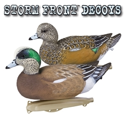 "Stormfront™ Widgeon Decoy ""Stormfront Widgeon Decoy"",widgeon,widgeon decoy,duck decoy, duck, decoy,stormfront, storm front, storm front decoys"