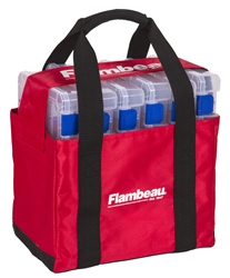 Tuff Tainer® 4000 Tote - Loaded tuff tainer 4000 tote, flambeau tuff tainer tote, flambeau tuff tainer tote 4000, 4007 tuff tainer tote, 4007 tuff tainers, tackle box bag, tackle box tote, tuff tainer tote, utility box tote, utility box bag, fishing utility box, fishing tackle box bag