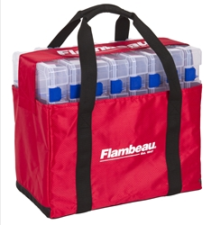 Tuff Tainer® Tote 5000 - Loaded tuff tainer tote 5000 loaded, tuff tainer tote 5000, utility box tote, utility box bag, fishing utility box bag, fishing tackle box bag, tackle bag, fishing tackle bag, zerust, flambeau outdoors, tuff tainer, utility box