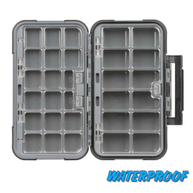 X Large 28 Compartment Blue Ribbon Fly Box