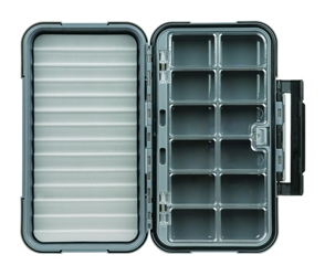 X-Large 12-Compartment Blue Ribbon™ Fly Box fly, fly fishing, fly fishing box, box, vertical friction foam, friction, blue ribbon, blue ribbon fly box, water, waterproof, sealed, x-large 12-compartment blue ribbon fly box, fishing, fly, water, waterproof, sealed, waterproof flybox, storage, lures, storage for fishing flys,  great gift, fathers day, gift for grandpa, gift for father, gift for uncle, gift for husband, gift for son, Christmas gift, birthday gift, fishing gear, fishing supplies,