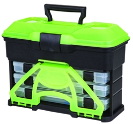 T3 Multiloader™ - Frost Series Green T3,frost green,green T3,Front Loader,tackle box,Front loader tackle box